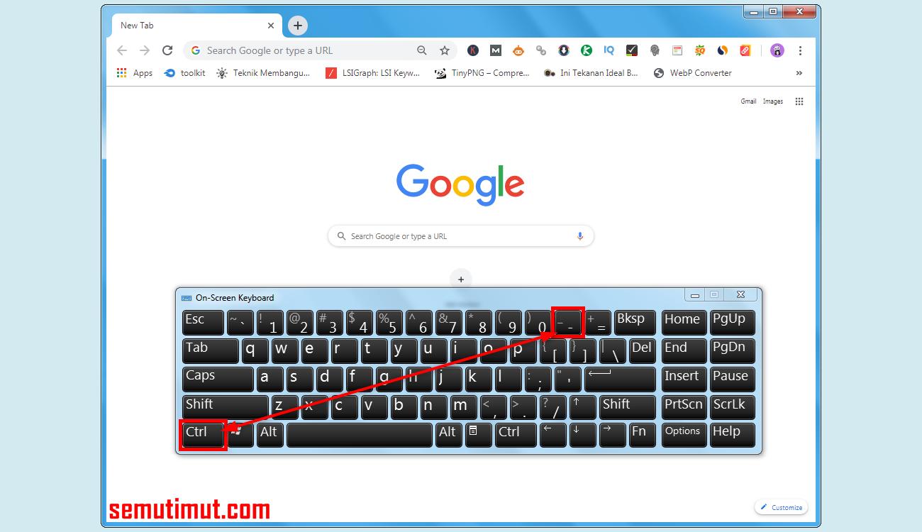 Cara mengembalikan tampilan google,cara memperbesar memperkecil halaman