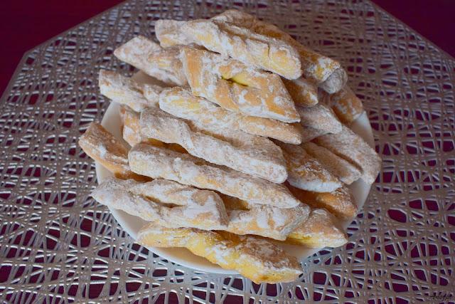 chrust z piekarnika