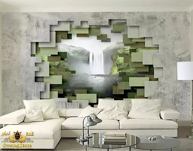 انواع ورق الجدران