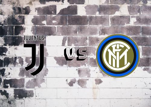Juventus vs Internazionale  Resumen y Partido Completo
