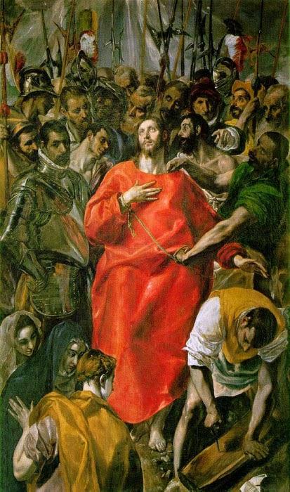 A Espoliação - El Greco e suas principais pinturas ~ Maneirismo
