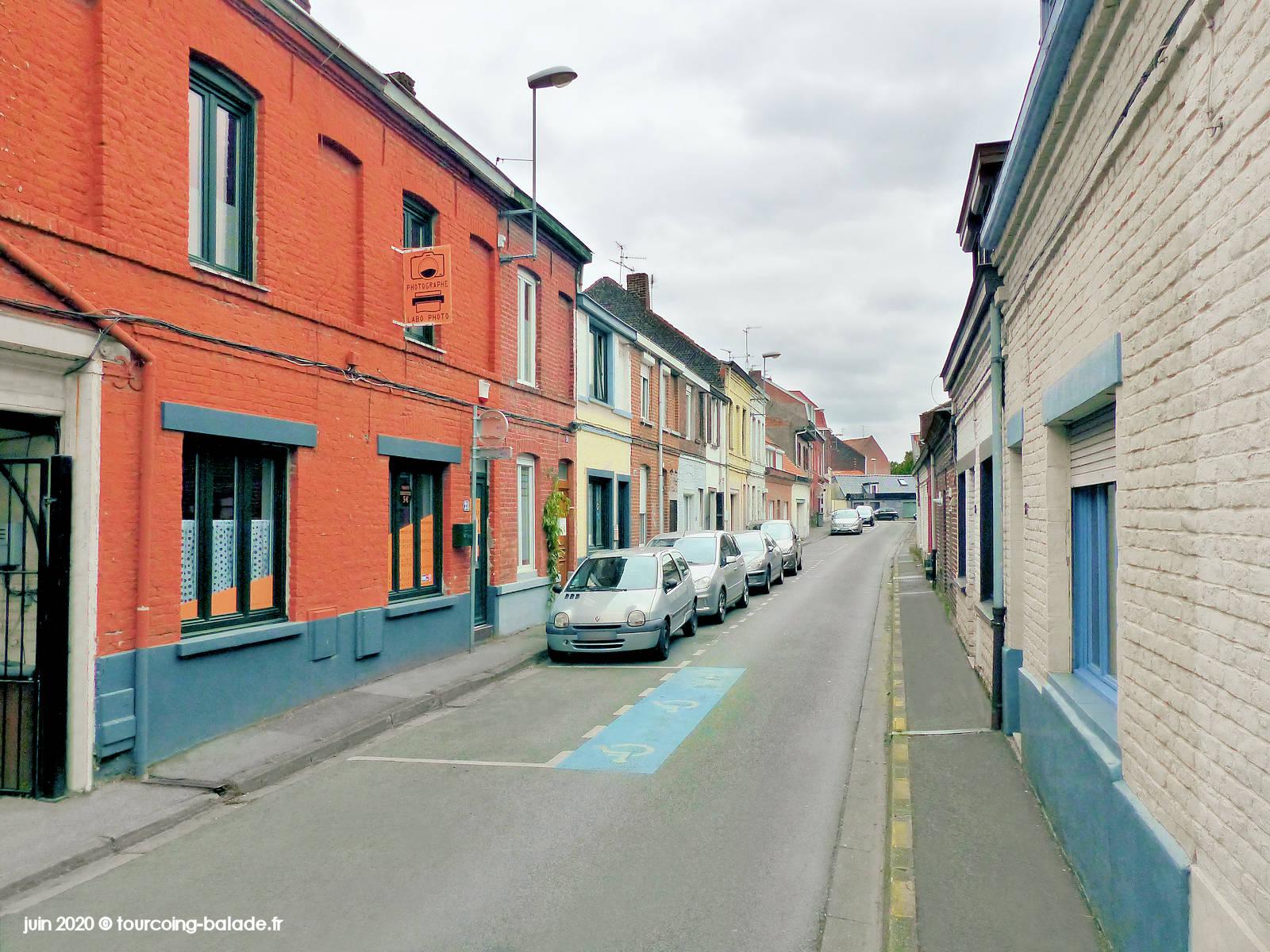 Rue de Wasquehal, Tourcoing 2020
