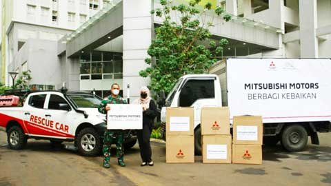 Tim Mitsubishi CSR Humanity Program