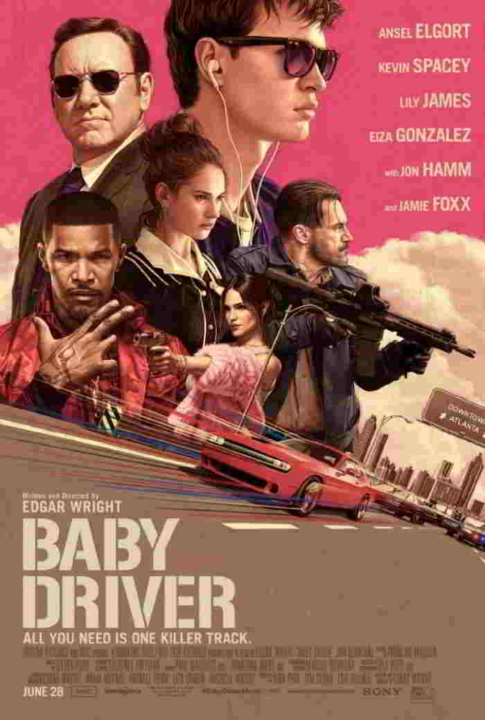 Resultado de imagen para Baby Driver (El Aprendiz del Crimen) (2017)