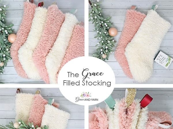 The Grace Filled Stocking - A Free Crochet Pattern
