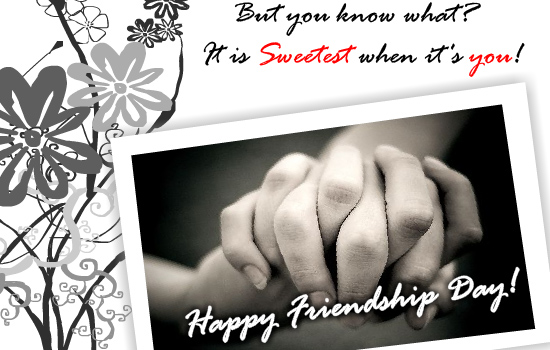 Happy Friendship Day 2017 Pictures For Sweet Friends