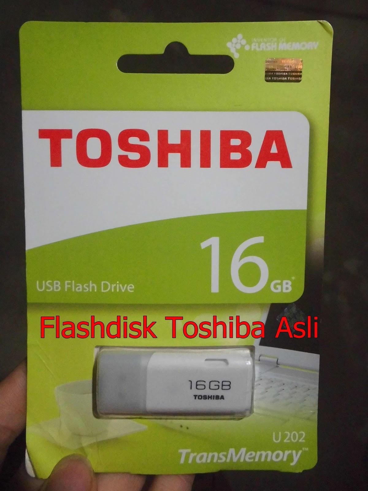 Tips Mudah Membedakan Flashdisk Toshiba Asli Dengan Yang Palsu Ter Flasdisk 32 Gb Flash Drive