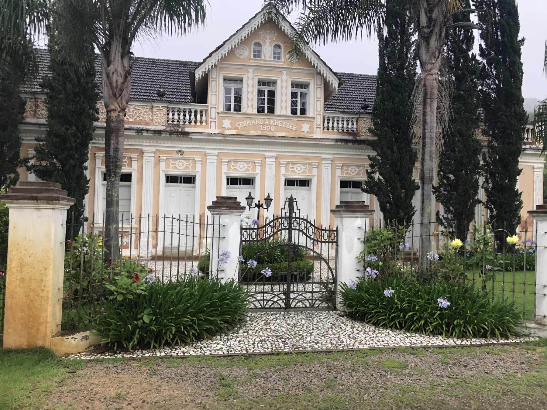 Construções históricas no caminho - Santa Catarina