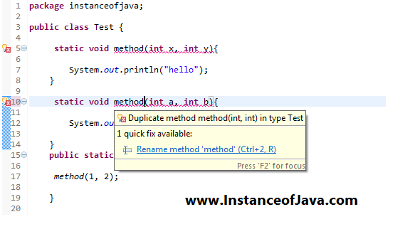 Core java multiple choice questions with answers on method ...