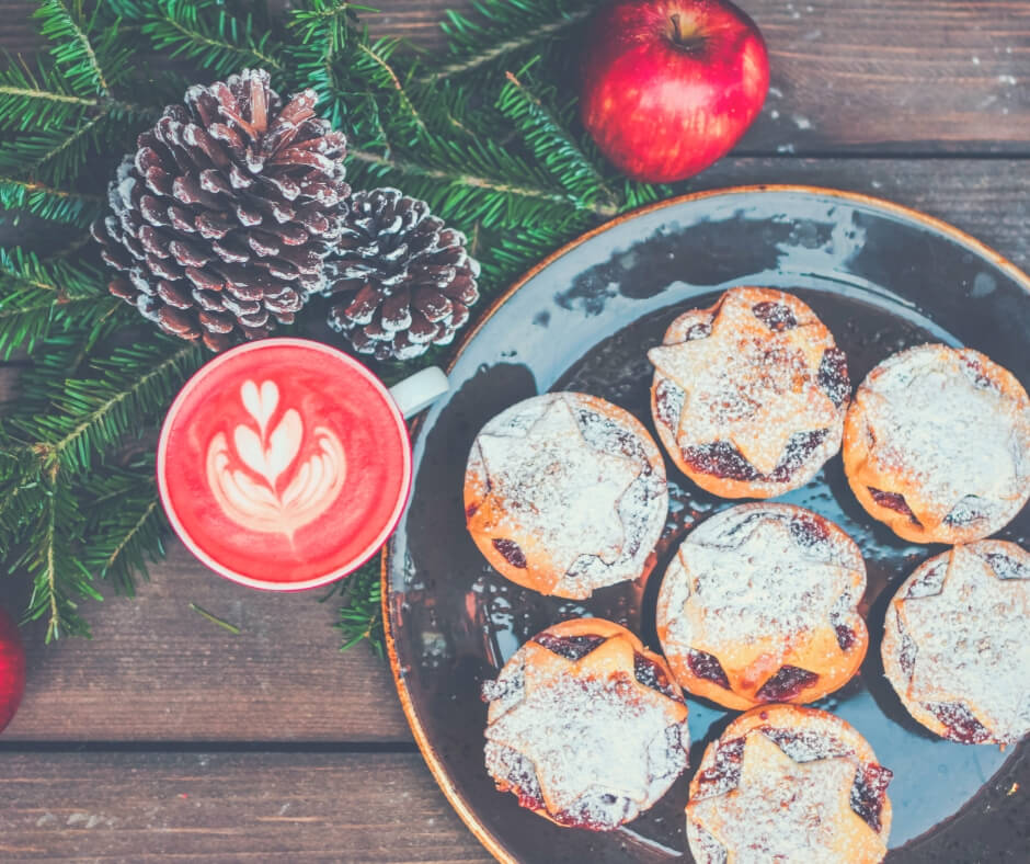 Take A Step Back This Christmas | Eat mince pies, drink your favourite tipple, and enjoy the festive period.