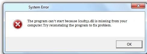 Télécharger Icudt51.dll Fichier Gratuit Installer