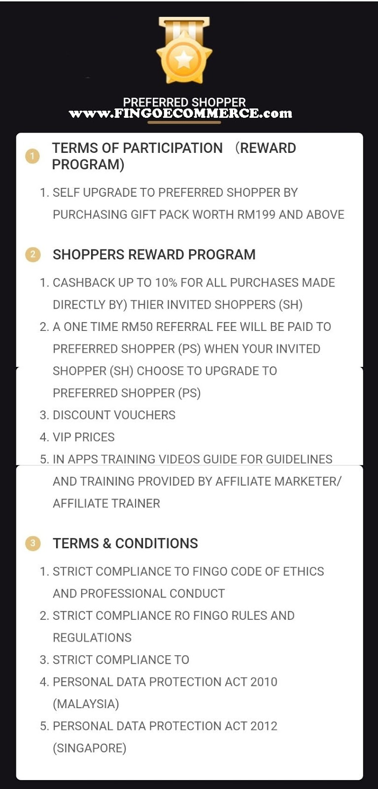 PREFERRED SHOPPER FINGO | FINGO ECOMMERCE