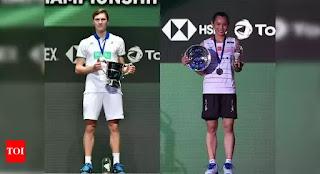 BÁDMINTON - Histórica victoria de Viktor Axelsen en el All England y tercer título para Tai Tzu-ying