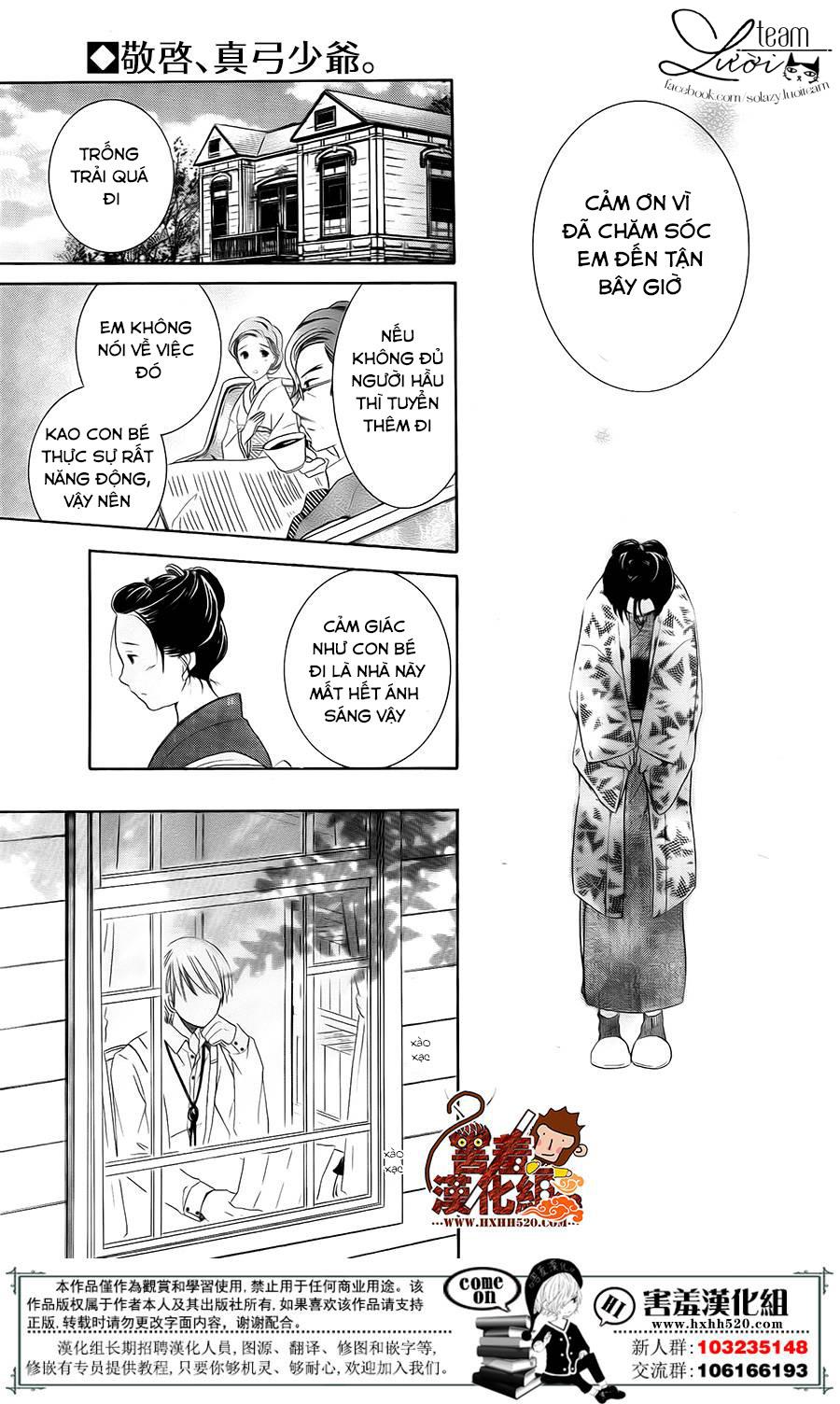 Haikei Mayumi-sama chap 3 - Trang 24