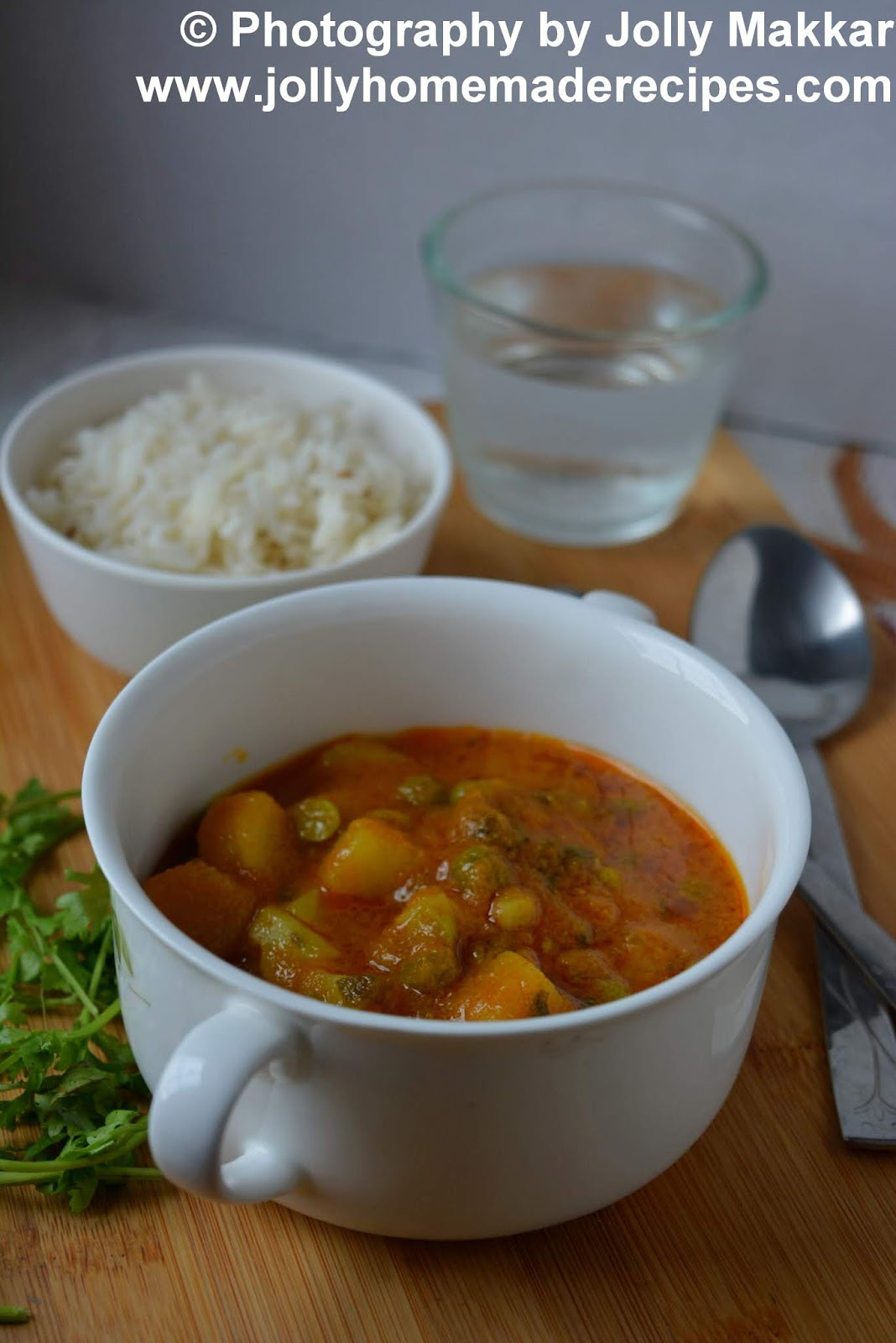 potato peas curry