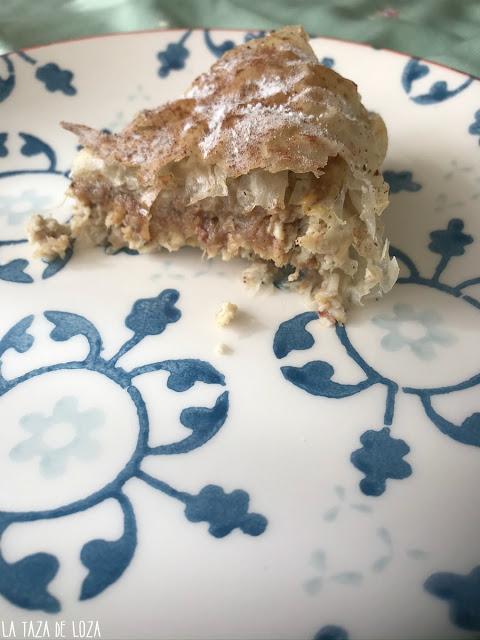 porción-de-pastela-moruna-de-pollo
