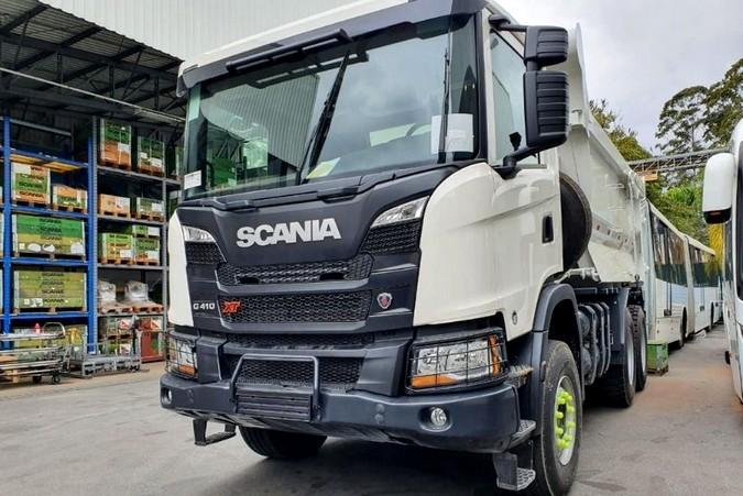 Scania inicia testes com caminhão movido a gás na mineração