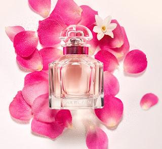 Guerlain嬌蘭 法式玫瑰香水絲巾