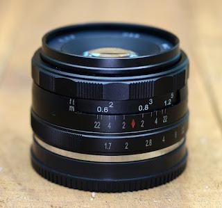 Lensa Kaxinda 35mm f1.7 sony E- Mount