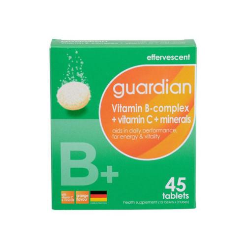 guardian Vitamin B-complex + Vitamin C + Minerals