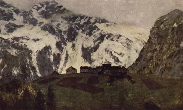 Исаак Ильич Левитан - В Альпах. 1897