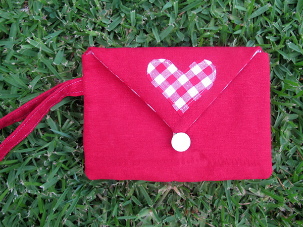 Tutorial - The Love Letter Mini Clutch