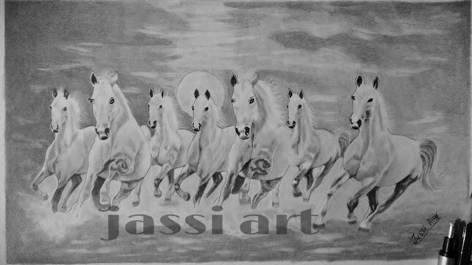 7 horse #sketch