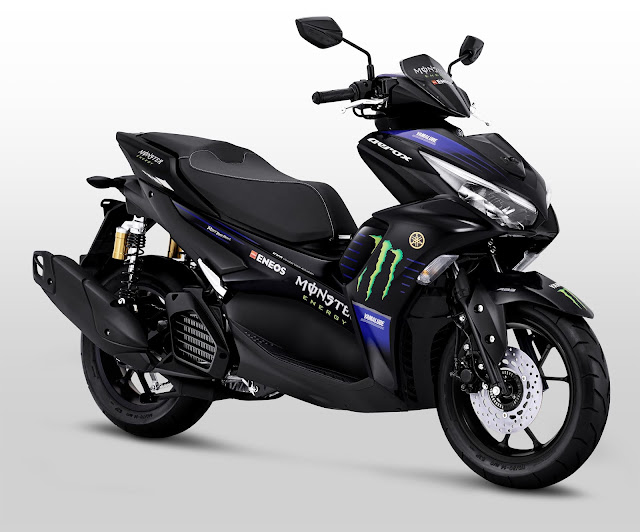 All New Aerox 155 Connected MotoGP Edition