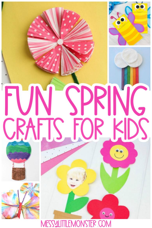 Fun spring crafts for kids
