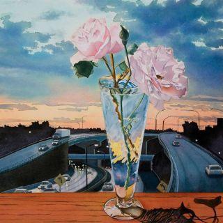 Цветочные натюрморты акварелью. Gregory Van Raalte