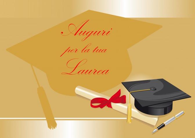 Congratulazione laurea