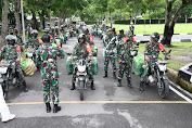 Pangdam I/BB Lepas Babinsa Dengan 15.000 Paket Sembako