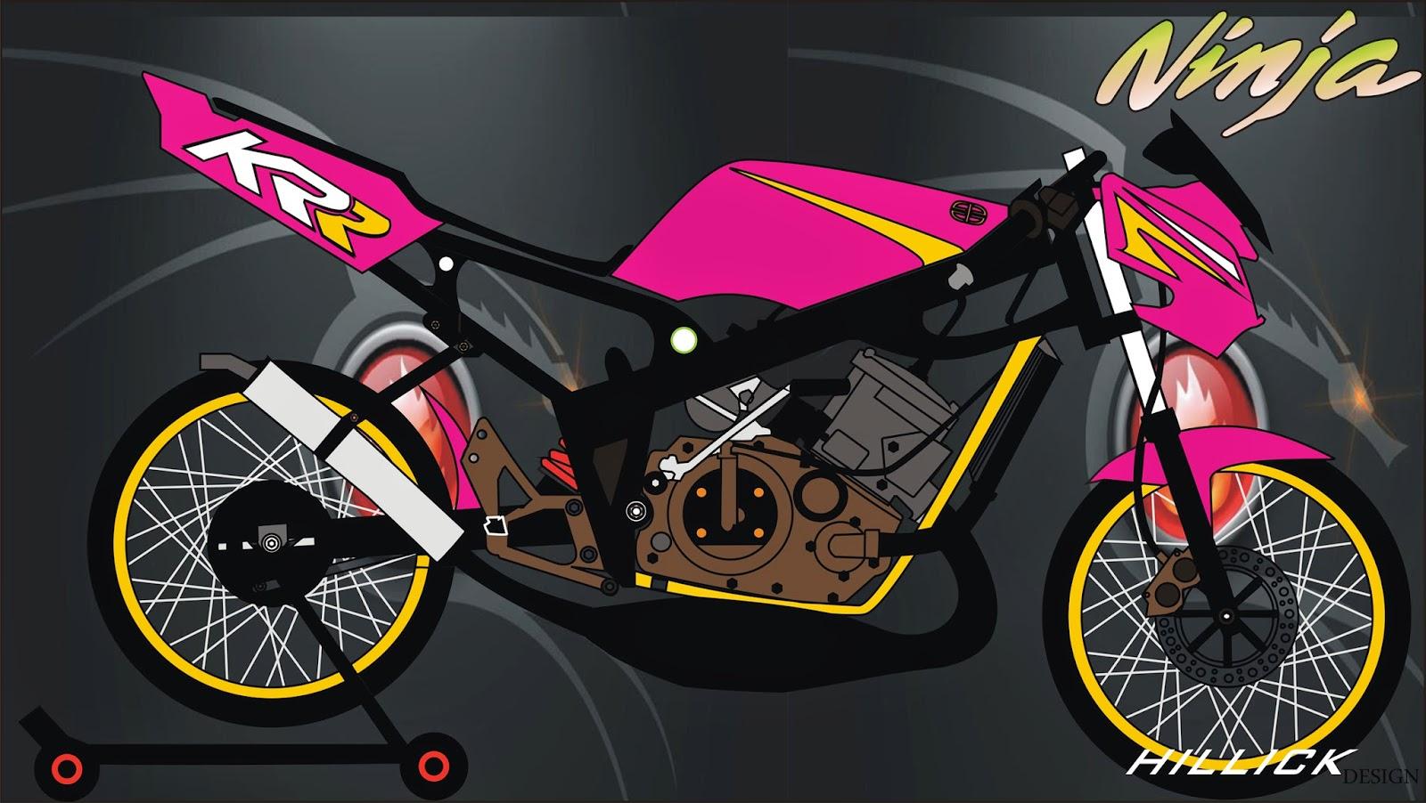 85 Gambar Motor Drag Corel Draw Terlengkap Ranting Modifikasi