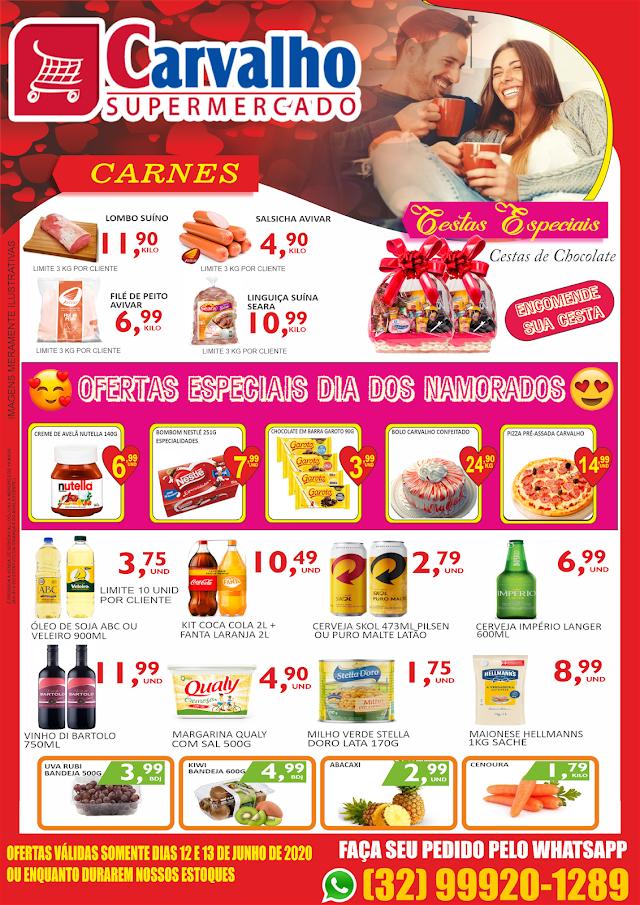 Ofertas Especiais Dia dos Namorados é no Carvalho Supermercado