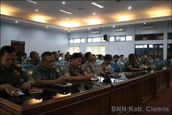 Pemkab, TNI dan Polri Bersinergi Tangani Narkoba