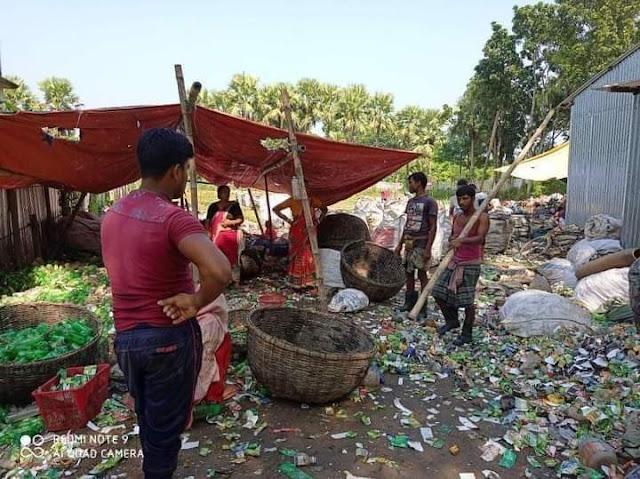 মাগুরার মহম্মদপুরে রিসাইক্লিং প্লাস্টিক কারখানা তৈরী