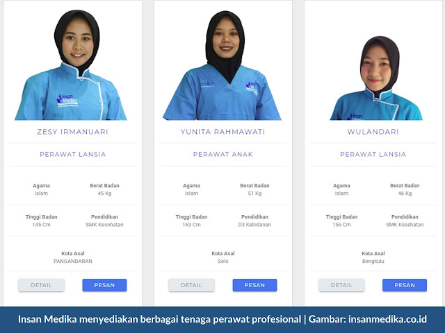 Perawat Home Care Profesional