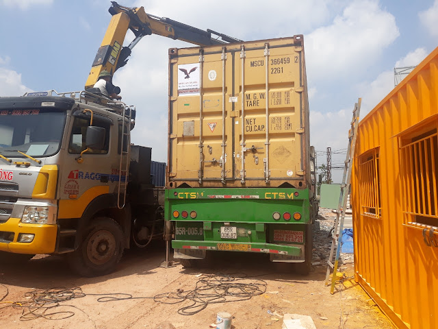 cho thuê container tại bến lức