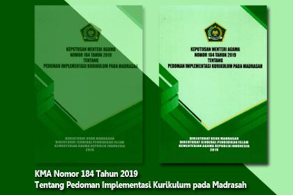 Keputusan Menteri Agama Nomor 184 Tahun 2019
