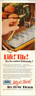 Magic Touch Ice Cube Trays