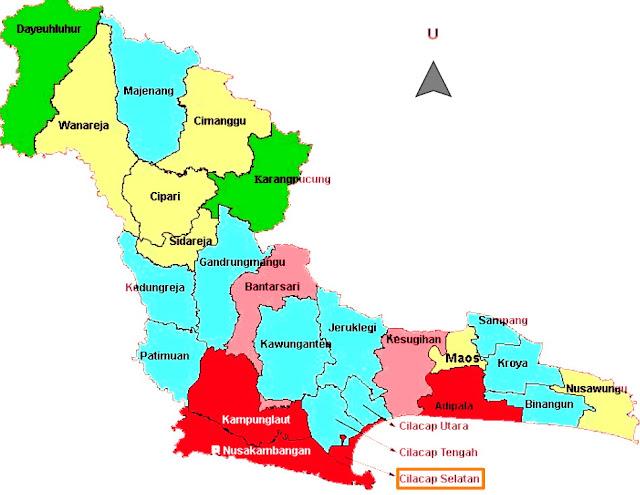 kode pos cilacap selatan