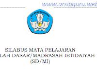 Silabus IPA SD/MI Kurikulum 2013 Revisi Terbaru 2017/2018
