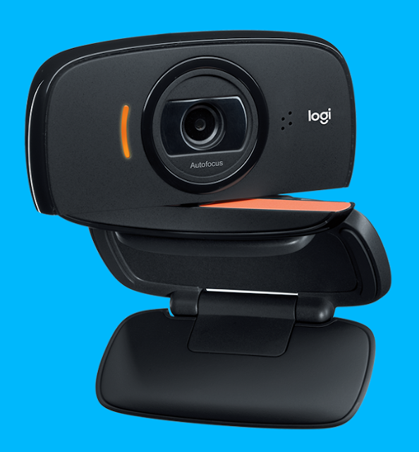 Webcam Logitech C525 untuk live streaming atau video call