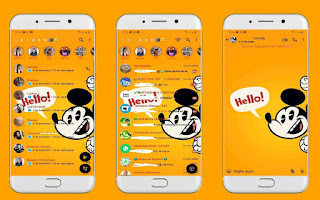 Mickey 2 Theme For YOWhatsApp & Fouad WhatsApp By Leidiane