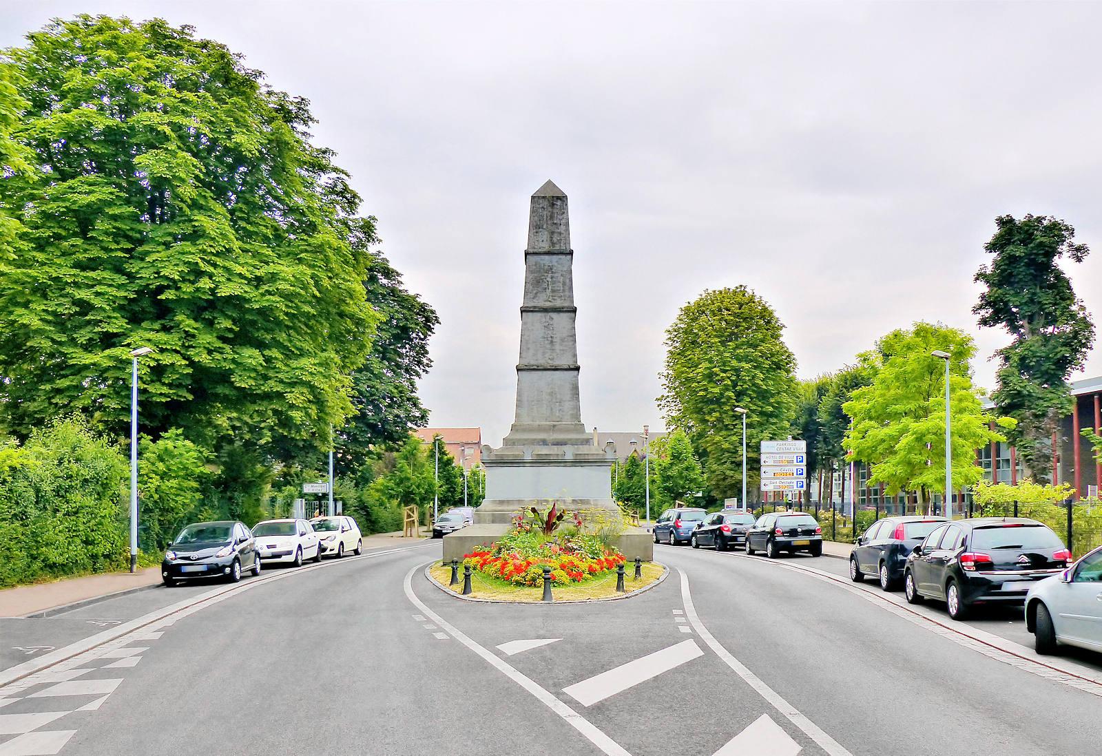 Bataille de Tourcoing de 1794 -Monument commémoratif, Avenue Millet, Tourcoing.