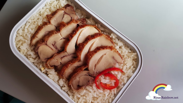 Air Asia Chicken Rice