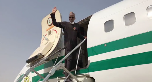 Buhari Departs Kano For 'One Planet Summit' In Paris