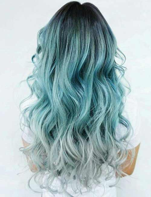 Mermaid Hair Color Idea - Gray Mermaid