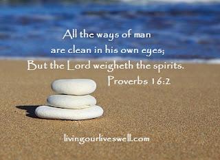 Proverbs 16:2