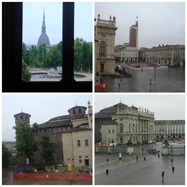 vistas do Palazzo Reale Turim